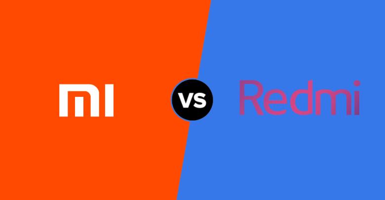 Xiaomi vs Redmi