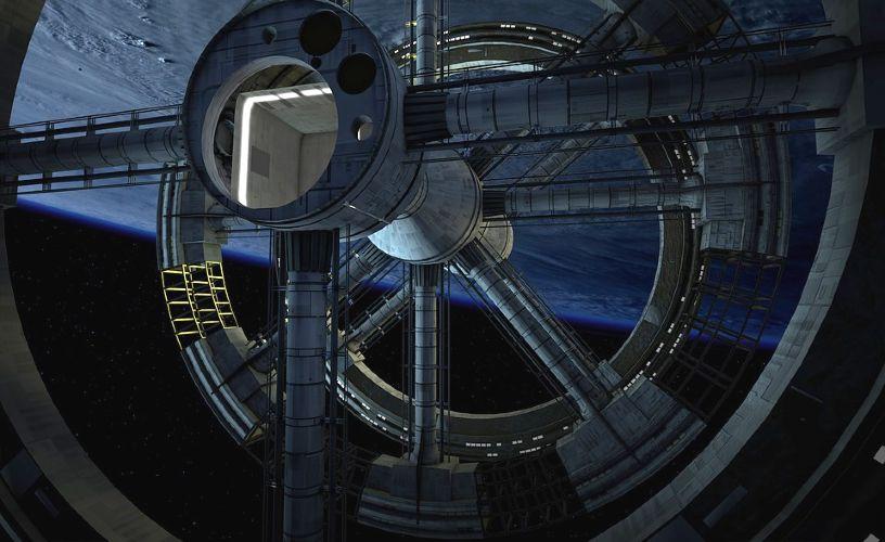 vesmirna stanica space-station-2114479_960_720
