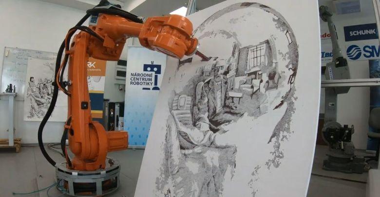 Michal Adamik Kresliaci robot