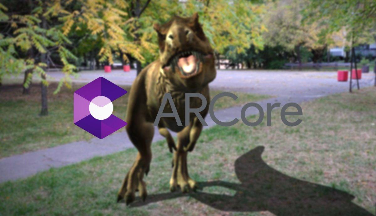 Virtualna realita ARCore