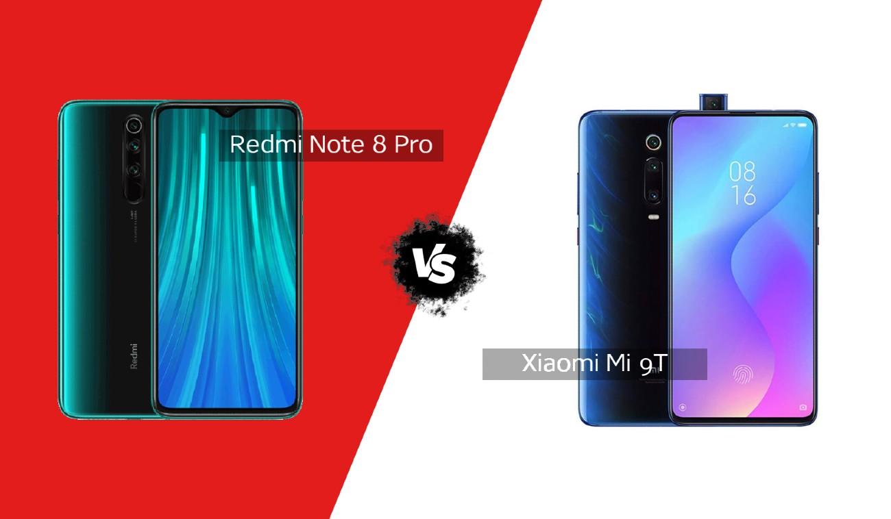 Xiaomi Mi 9T vs Redmi Note 8 Pro