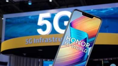 Honor 5G smartfony