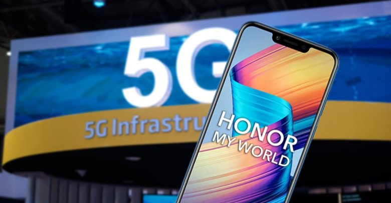 Honor 5G smartfony