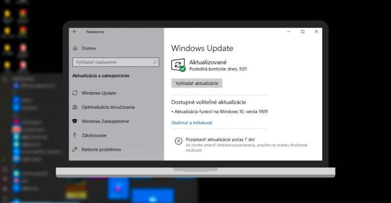 Windows 10 1909 aktualizacia (1)
