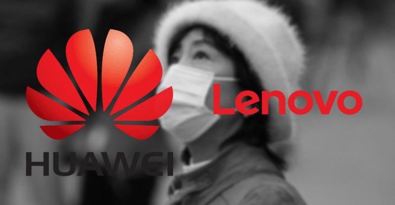Huawei a Lenovo pomaha
