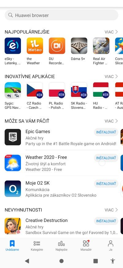 Alternativna aplikacia k Google Play - App Gallery_2