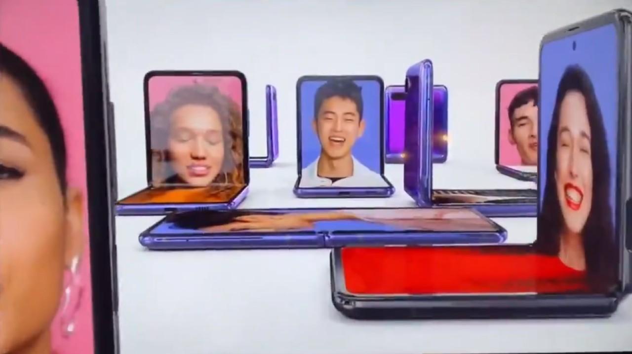 Samsung Galaxy Z Flip reklama