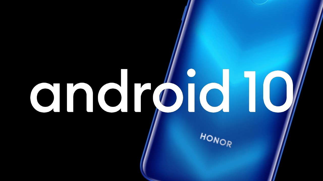 Android 10 Huawei Honor