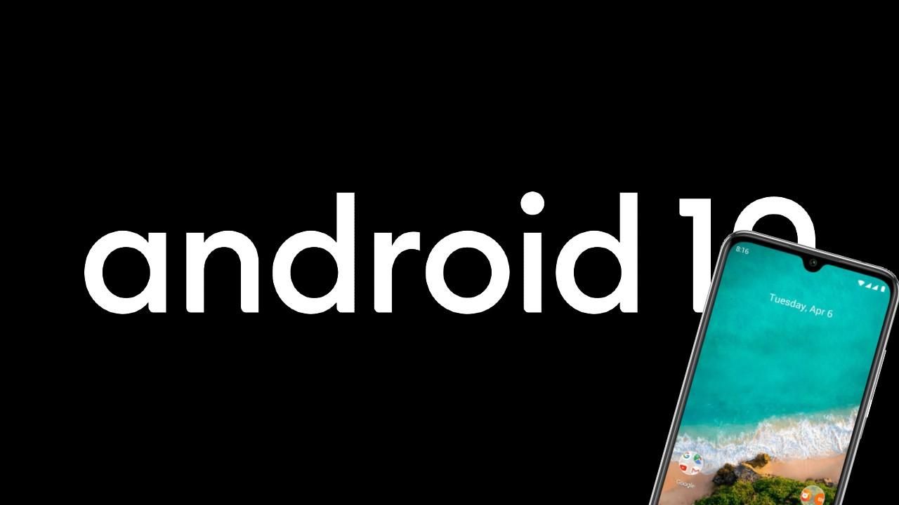 Android 10_Xiaomi Mi A3