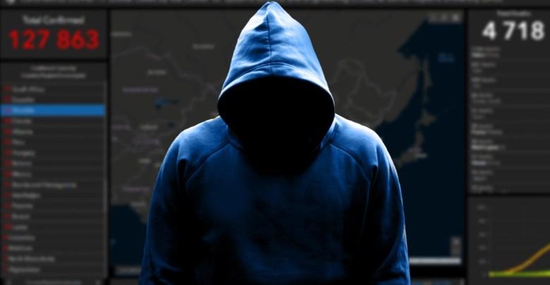 Hacker vyuziva flasone mapy koronavirus