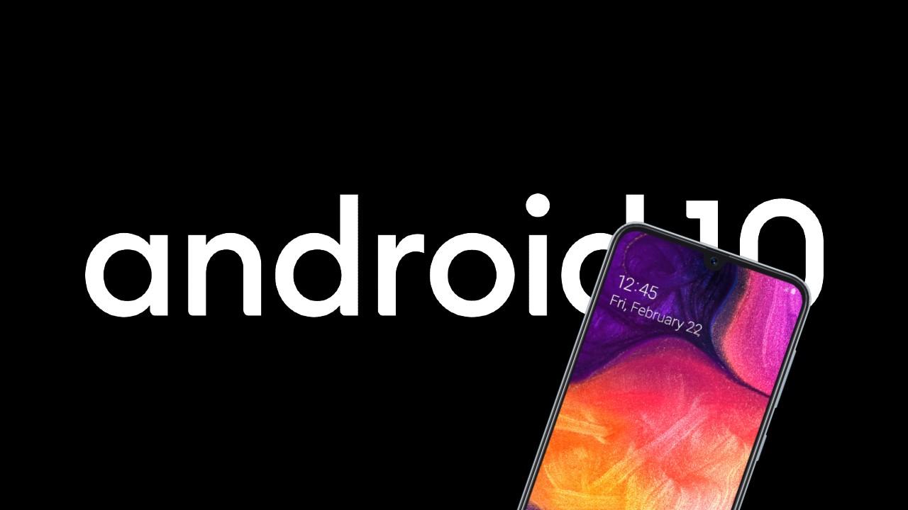 Samsung Galaxy A40, A50, A80 a A7 Android 10
