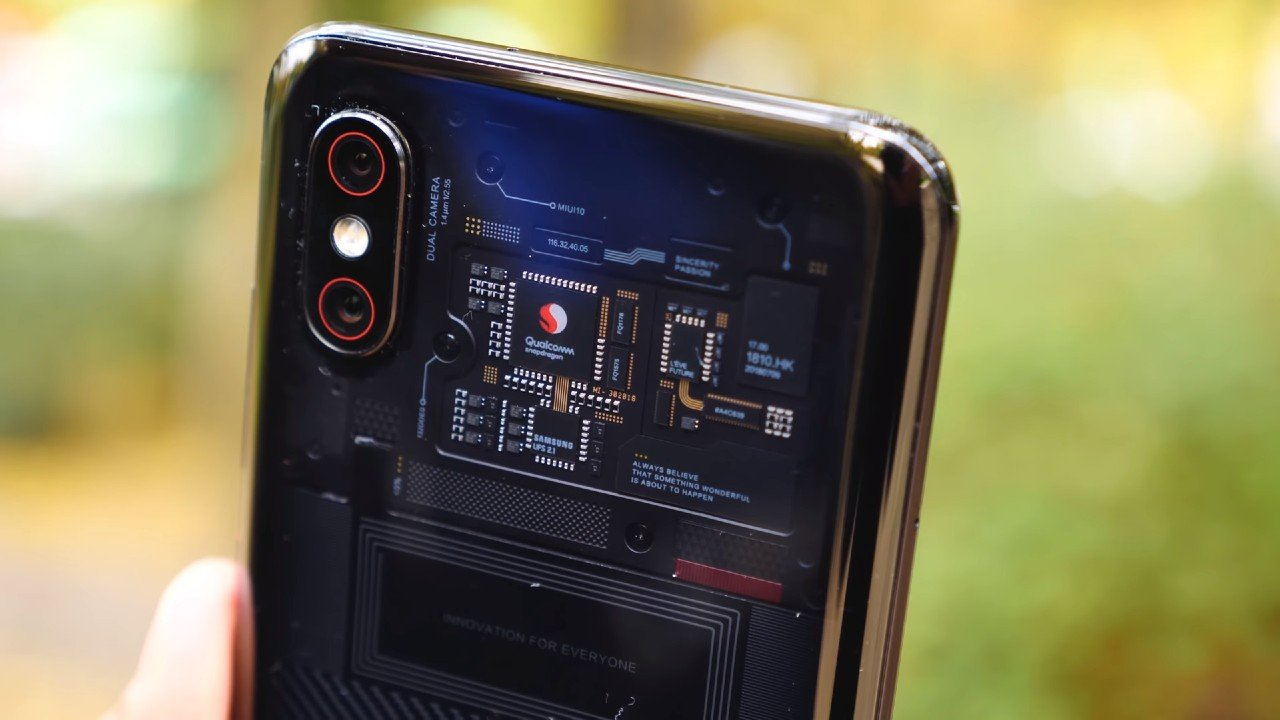 Xiaomi Mi 8_transparent edition