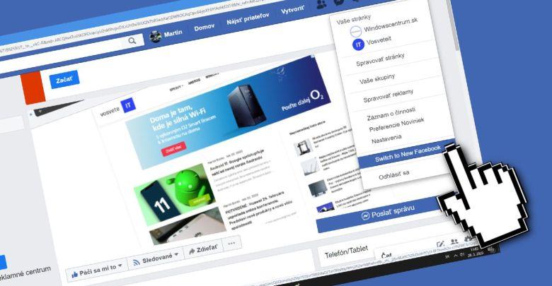 novy Facebook_aktivacia pre pouzivatelov