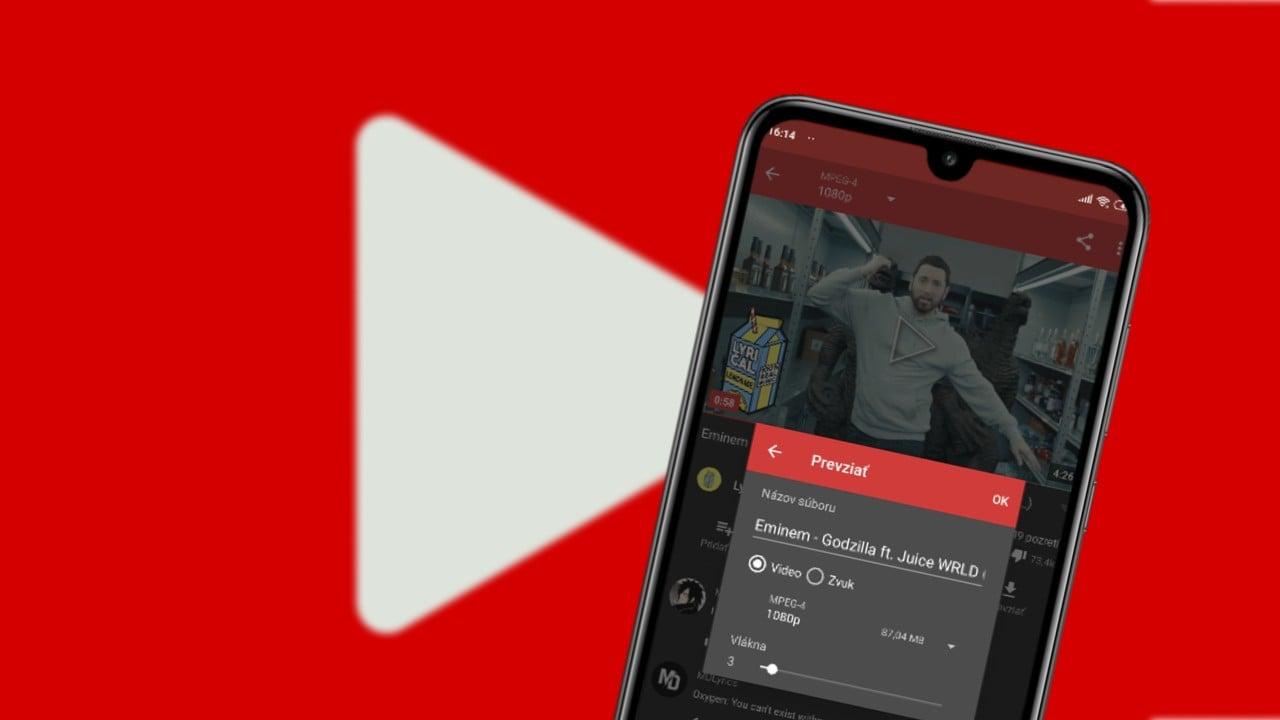 Ako stahovat videa z Youtube navod