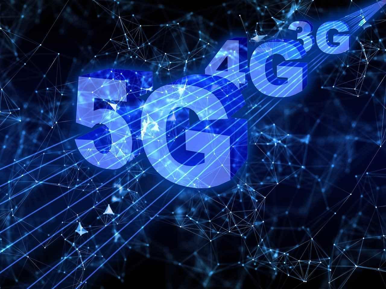 5G siet 4G siet 3G siet