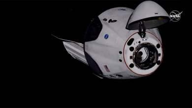 Crew Dragon pripojenie k ISS