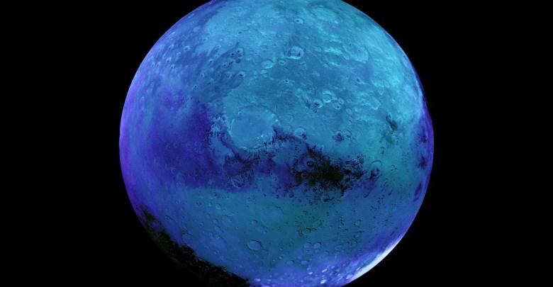 modrý mars