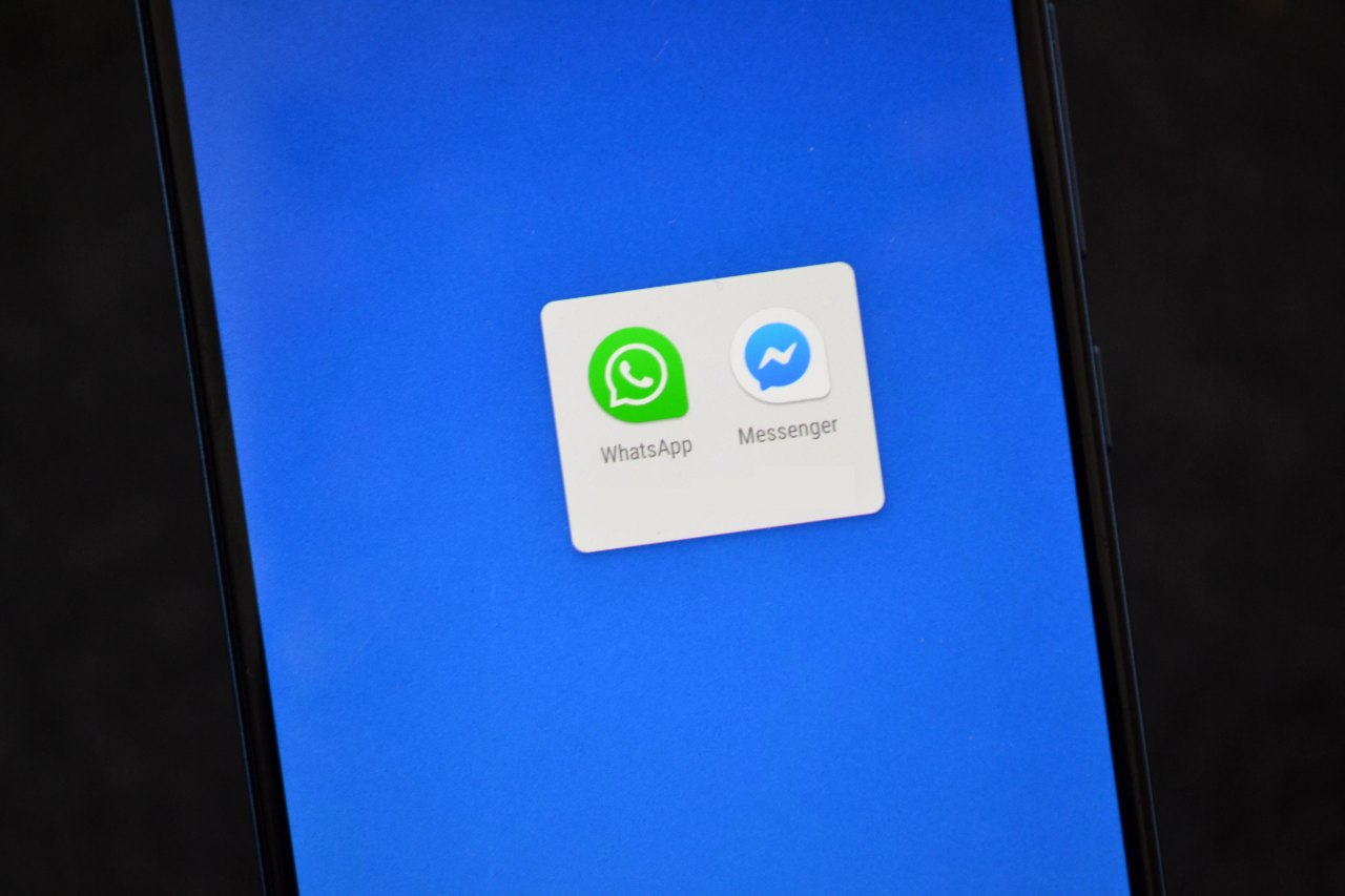 WhatsApp a Messenger
