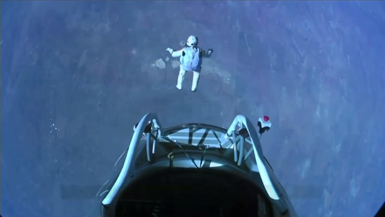zoskok zo stratosfery