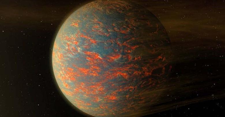 Lávová planéta