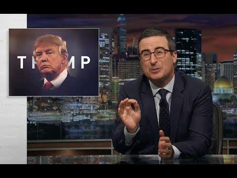 John Oliver - Condemning Trump