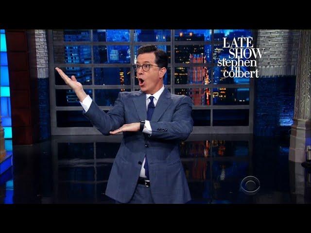 Stephen Polls His Audience On Trump's Performance