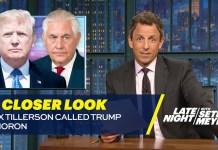 Rex Tillerson Called Trump a Moron: A Closer Look