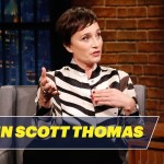 Kristin Scott Thomas Reveals What She and the Queen of England Talked About