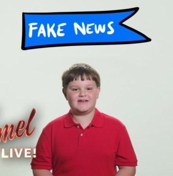 3rd Grader Explains Fake News to Donald Trump