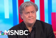 Steve Bannon Comes To The Defense Of President Donald Trump | Morning Joe | MSNBC