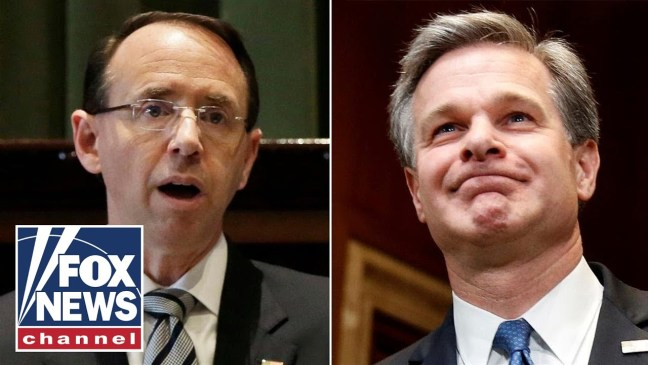 LIVE: Deputy AG Rosenstein & FBI Director Wray testify on 2016 election