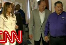 Melania Trump tours immigrant detention center