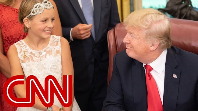Trump signs childhood cancer research bill