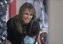 First Lady Melania Trump Visits Arizona
