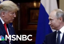 President Donald Trump Looking Forward To A 2nd Meeting With Vladmir Putin | Velshi & Ruhle | MSNBC
