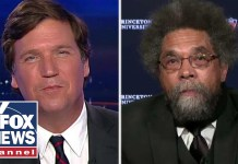 Tucker takes on Cornel West over Democratic socialism