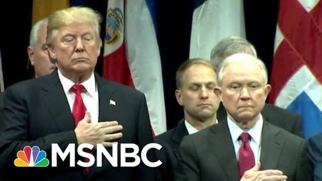 Is DOJ Punishing Judges For Fair Immigration Hearings? | The Last Word | MSNBC