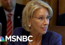 Betsy DeVos Considers Using Federal Funds For Guns In Classrooms | Velshi & Ruhle | MSNBC