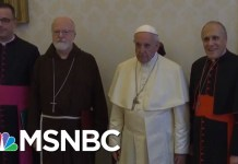 Pope Francis Meets With Cardinals And Bishops Over Sex Abuse | Velshi & Ruhle | MSNBC