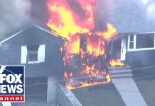 Over 20 homes on fire after gas explosions near Boston
