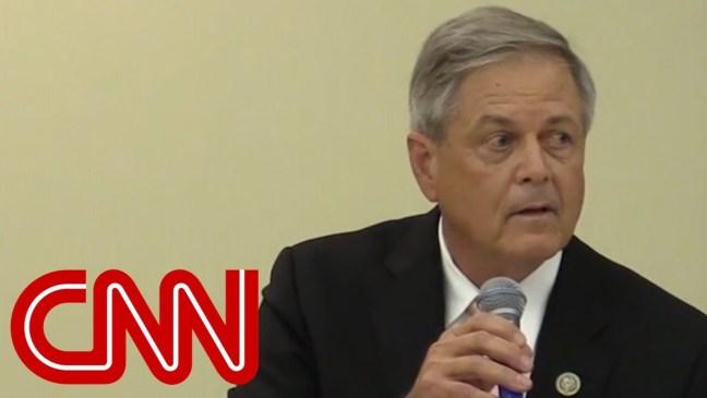 See GOP lawmaker's crude joke mocking Kavanaugh accuser