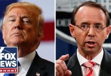 White House: Rosenstein to meet with Trump on Thursday