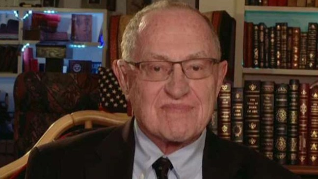 Alan Dershowitz on calls from the left to ignore due process