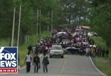 Another migrant caravan headed towards US border
