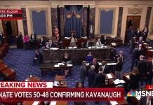 Chris Matthews Gets Reaction To Kavanaugh's Confirmation | MSNBC