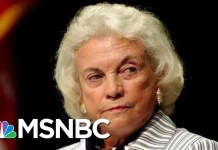 Sandra Day O'Connor Diagnosed With Dementia, Retiring From Public Life | Hallie Jackson | MSNBC