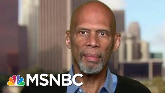 Kareem Abdul-Jabbar: Kaepernick Continuing Civil Rights Movement | The Beat With Ari Melber | MSNBC