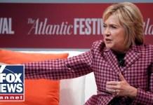 Hillary Clinton laughs off Kavanaugh's 'hit job' claim