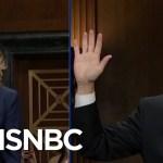 Tantrum: GOP Senators Unite In Angry, Weepy Defense Of Kavanaugh | The Beat With Ari Melber | MSNBC