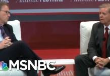 Lindsey Graham Tells Atlantic John McCain's Death Left Vacuum In Senate | Morning Joe | MSNBC